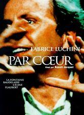 """Affiche 120 x 160 du film """"PAR COEUR"""" avec Fabrice Luchini ."""