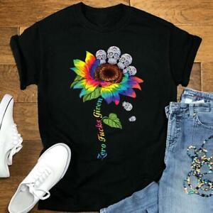 Colorful Tie Dye Sunflower Shirt