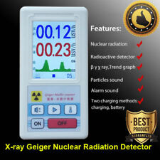 Beta Gamma X-ray Geiger Nuclear Radiation Detector Real Time Monitoring Tester