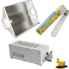 """Hydroponics 5"""" CoolVent Hood With GROWLUSH MH Ballast and MH 250W tubular lamp"""