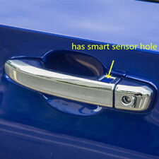 LHD Chrome Side Door Handle Cover Trim has Smart Hole 8pcs For Honda Accord 2018