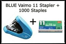 2x2 Coin Flips Blue Vaimo 11 Palm Size Max Flat Clinch Stapler1000 Mini Staples