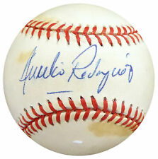 Aurelio Rodriguez Autographed Signed AL Baseball Tigers, Yankees Beckett S78434