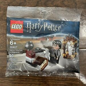 Lego 30407 Harry Potter Harry's Journey to Hogwarts 40 Pieces Polybag Hedwig New