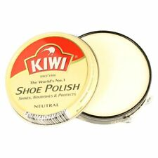 Kiwi Shoe Polish 50ml Tin Shiner Nourishes & Protector Leather Boot Clearner