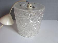 suspension lustre  vintage en  plastique