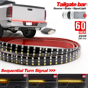"Ram 1500/2500 Tailgate Strip 60"" TRIPLE LED Sequential TurnSignal-Brake-Reverse"