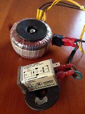 Trasformatore toroidale 70VA 220V/24V 2,91A  con regali vedi descrizione