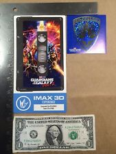 Guardians of the Galaxy Vol 2 Regal Collectible IMAX Ticket + Sticker Nova Corps