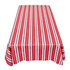 """""""Patriotic Patchwork"""" 52""""x90"""" vinyl flannel backed tablecloth"""
