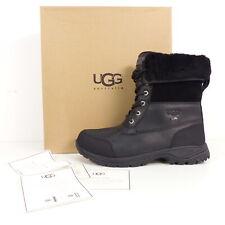 UGG Boots Stiefel Butte Herren Gr. US 8 EU 40,5 schwarz Schuhe Echt Leder Lammfe