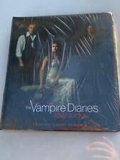 Vampire Diaries Season 4 Factory Sealed Card Binder with M24 Wardrobe Card
