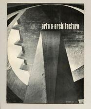 1965 Claire Falkenstein ARTS + ARCHITECTURE Isamu NOGUCHI Garden Philip GARDNER
