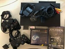 Sony Playstation 2 with Network Adaptor plus 160Gb HDD - working