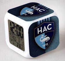 Réveil numerique Digital Le Havre AC Cube à effet lumineux alarme football