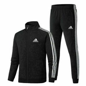 Mens Adidas Originals Firebird Tracksuit Suit Pants Track Jacket Top S to 5XL