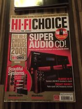 HI-FI Choice CD Amp Speakers Sub Music Cables Etc Issue No 326 Awards 2009