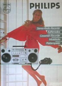 BoomBox PHILIPS D8614 Ghettoblaster, Radiorecorder 1982 Austria - For collector!