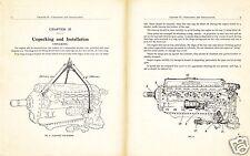 ROLLS ROYCE MERLIN ENGINE MANUAL MAINTENANCE 1938 Spitfire Hurricane rare detail