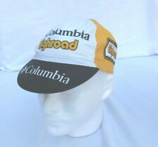 Columbia Highroad Cycling Hat - Yellow White and Black