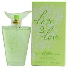 Love 2 Love by Love 2 Love Jasmine & Sparkling Mimosa EDT Spray 3.4 oz