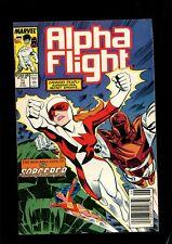 ALPHA FLIGHT 71 (9.4) NEWSSTAND MARVEL (b053)