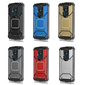 For Motorola G7 Power/ Protective Heavy Duty Shockproof Defender Jacket Case