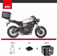 Yamaha XSR700 2016 GIVI SR2126 RACK KIT + TREKKER OUTBACK OBK42B TOP BOX CASE
