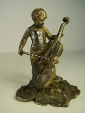 Antike w. WMF Figur Junge Engel um 1890