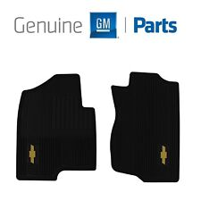 For Chevrolet Avalanche Tahoe Front All Weather Ebony Black Floor Mats Genuine
