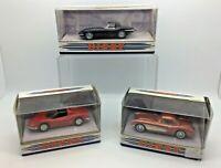 3 X Matchbox Dinky Collection 1967 Jaguar E Type 1956 Chevrolet 1973 Ferrari 246