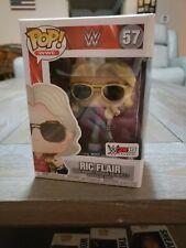 WWE Ric Flair #57 Funko Pop! 2K19 Wooooo! Exclusive Edition: New! Pop Protector