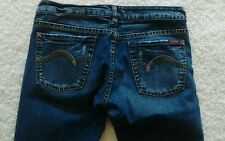Womens Sz 30 SILVER JEANS PRISM Multi Color Stitch Distressed Whiskered