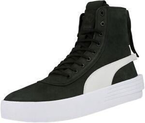 Puma XO Parallel The Weekend Hohe Sneaker Stiefel Leder Boots Schwarz NEU