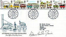 ADAM HART DAVIS AUTOGRAPHED FIRST DAY COVER