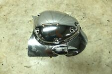 07 Yamaha XVZ 1300 Royal Star Venture left engine output drive chrome cover