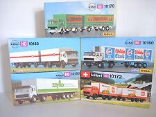 Kibri B-10170, B-10182, B-10190, B-10160, B-10172, LKW Konvolut, 5 Stück, OVP(1)