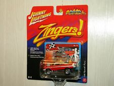 JOHNNY LIGHTNING 2006 STREET FREAKS ZINGERS '58 PLYMOUTH FURY RED PAINT