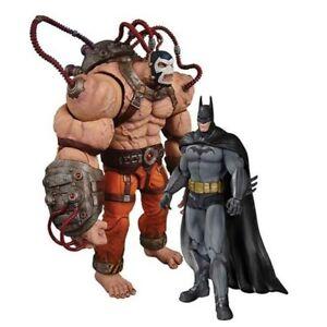 Batman Arkham Asylum Batman vs Bane Action Figure 2-Pack DC Collectibles SEALED