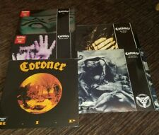 Coroner 5 Albums Sealed Grin Rip Mental Vortex punishment DecadenceNo More Color