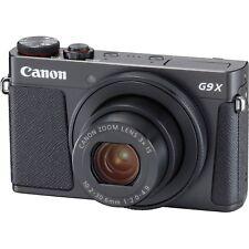 Canon PowerShot G9 X Mark II 20.1MP Full HD 1080p Wi-Fi IS Digital Camera -Black