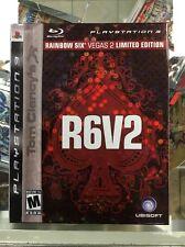 Tom Clancy's Rainbow Six: Vegas 2 -- Limited Edition (Sony PlayStation 3, 2008)