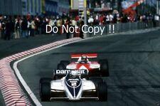 Riccardo Patrese Brabham BT50 Belgian Grand Prix 1982 Photograph 1