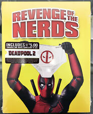 Revenge of the Nerds Blu-ray Deadpool Photobomb Slipcover Walmart Exclusive NEW