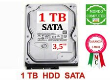 HARD DISK  1 TB  SATA  <  3,5 ' '>  PC FISSO -  DESKTOP - INTERNO