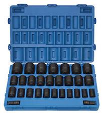 "Grey Pneumatic GRY 8029D 3/4"" Dr Deep SAE Master Set 3/4-2-1/2"", 29 pc"