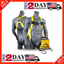 Fall Protection Full Body Safety Harness For Roofing Work Climbing Construction