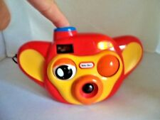 Little Tikes Click 'N Play Toy Camera w/ Flash - Flashes,Winks,Talks, Music etc.