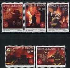 Ecuador 2007 Feuerwehr Fire Brigade Bomberos 2054-58 Postfrisch MNH