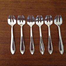 Orbrille,6 fourchettes à huitres.XX°.